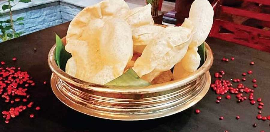 The papadum story